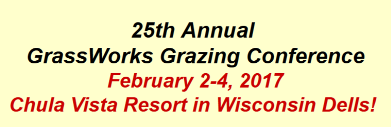 GrassWorks 25th annual conference notice