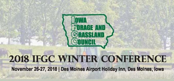 Iowa Forage & Grassland Council Winter Connference