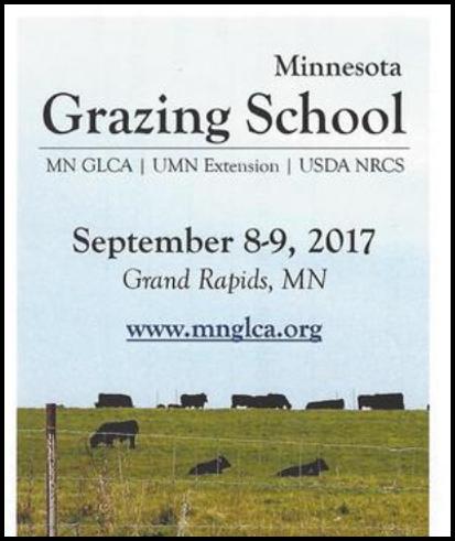 Minnesota Grazing School 2017
